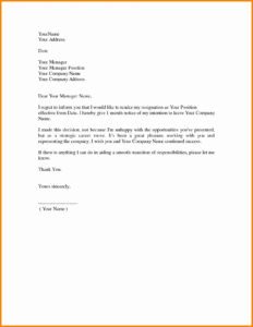 Image Result For Resignation Letter Hd | Microsoft Word throughout Microsoft Word Business Letter Template