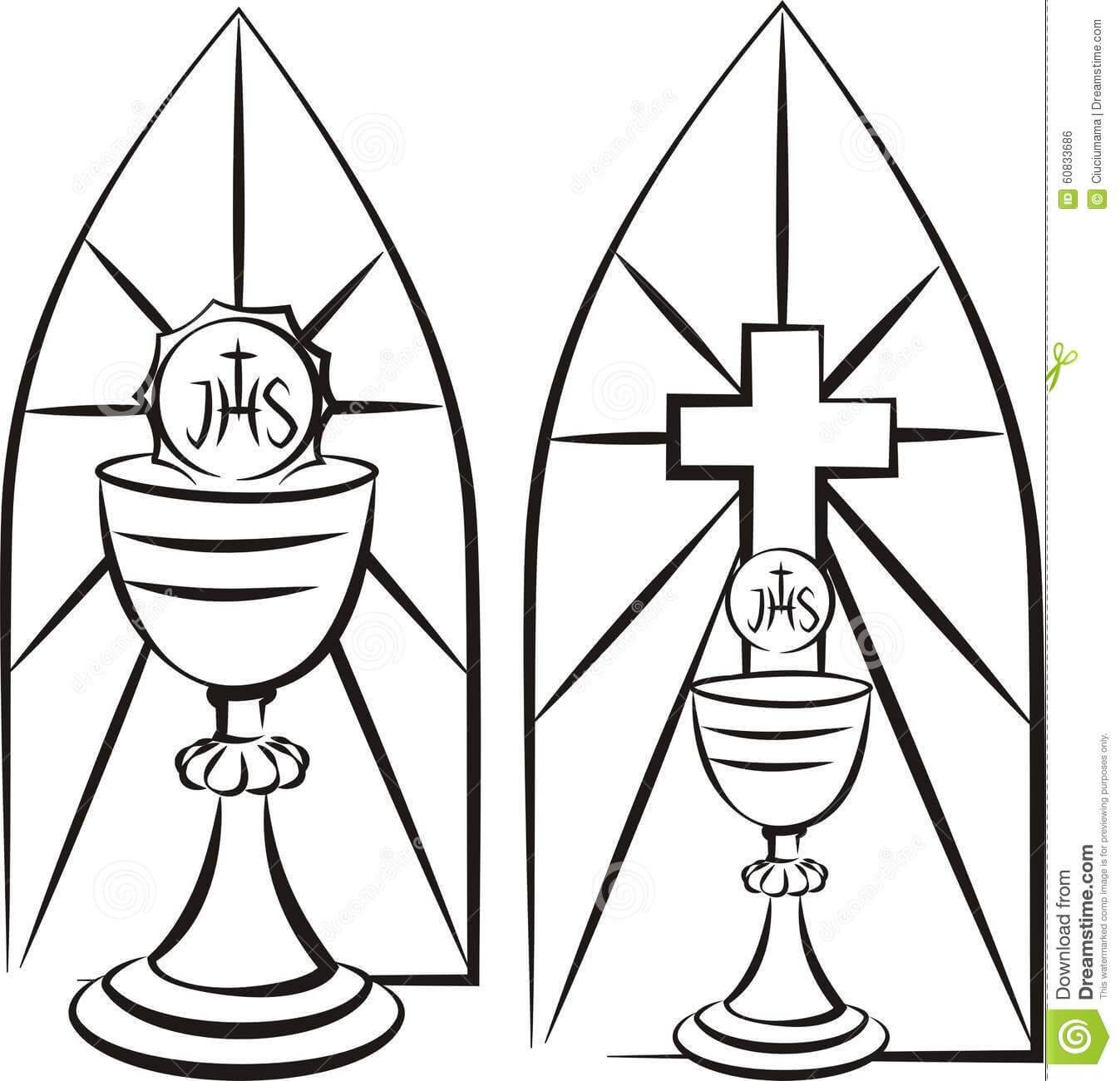 Image Result For Stain Glass First Communion Banner Template With Regard To Free Printable First Communion Banner Templates