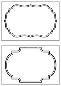 Image Result For Tag Template Free Printable | Tags | Tag in Blank Food Label Template