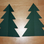 Images Of D Christmas Tree Printable Template Elcarco In 3D Throughout 3D Christmas Tree Card Template