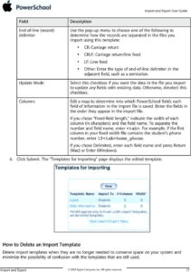 Import And Export User Guide Powerschool Student Information pertaining to Powerschool Reports Templates
