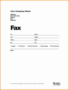 Imposing Free Printable Fax Cover Sheet Word Template Doc inside Fax Cover Sheet Template Word 2010