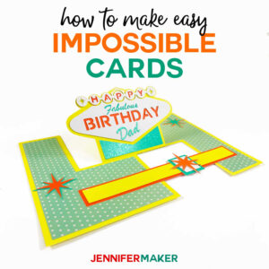 Impossible Card Templates: Super-Easy Pop-Up Cards pertaining to Popup Card Template Free