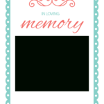 In Loving Memory - Free Memorial Card Template | Greetings pertaining to In Memory Cards Templates