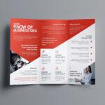 Indesign Bi Fold Brochure Template Free A4 Bifold Download Within Brochure Template Indesign Free Download