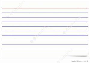 Index Card Size Template | Wesleykimlerstudio with regard to Blank Index Card Template
