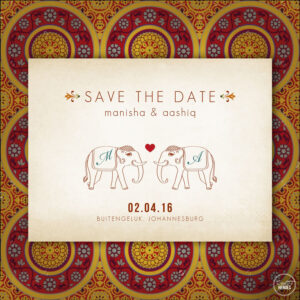 Indian Save The Date | Creative Heroes (Save The Dates in Indian Wedding Cards Design Templates