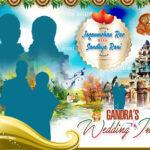 Indian Wedding Banners Psd Template Free Downloads | Naveengfx Throughout Wedding Banner Design Templates