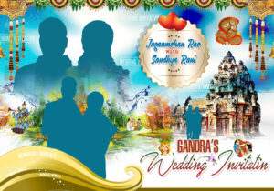 Indian Wedding Banners Psd Template Free Downloads | Naveengfx throughout Wedding Banner Design Templates