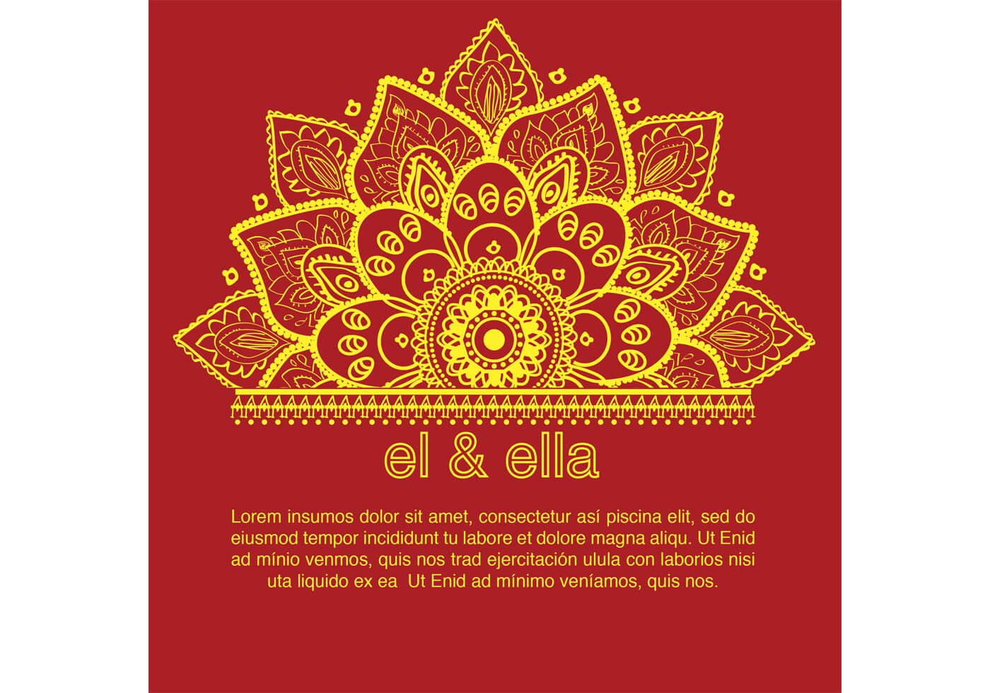 Indian Wedding Card Template - Download Free Vectors Inside Indian Wedding Cards Design Templates