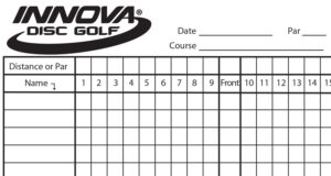 Innova Scorecard – Innova Disc Golf In Golf Score Cards Template