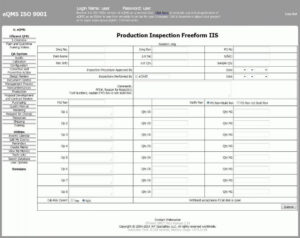 Inspection Report Template | Template Business With Welding Inspection Report Template
