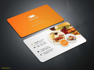Inspirational Food Business Cards Templates Free | Philogos Inside Food Business Cards Templates Free