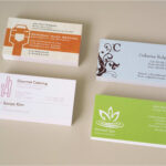 Inspirational Food Business Cards Templates Free | Philogos Intended For Freelance Business Card Template