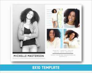 Inspirational Free Comp Card Template | Best Of Template within Free Model Comp Card Template