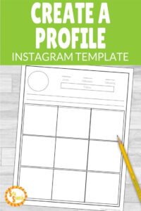 Instagram Template Editable Version Included | Spanish 1 For Check Out Report Template