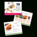Instant Download, Indesign Template For A Freebie – Meal Planning And  Recipe Card Version 1 Regarding Recipe Card Design Template