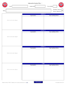 Interactive Session Plans™ – Academy Soccer Coach | Asc throughout Coaches Report Template