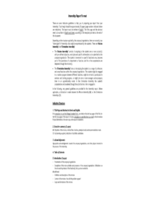 Internship Report Template with Training Summary Report Template