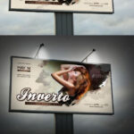 Inverto Party Outdoor Banner Templaterapidgraf High Pertaining To Outdoor Banner Design Templates