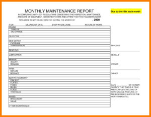 Investigation Report Example | Glendale Community inside Ohs Monthly Report Template