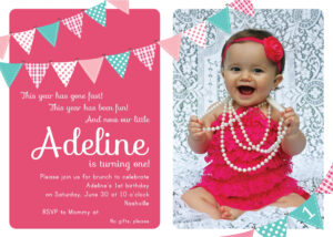Invitation Birthday Card : Invitation Birthday Cards throughout First Birthday Invitation Card Template