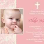 Invitation Card For Christening : Invitation Card For For Blank Christening Invitation Templates