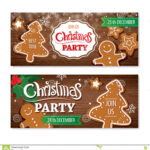 Invitation Merry Christmas Banner And Card Design Template Regarding Merry Christmas Banner Template