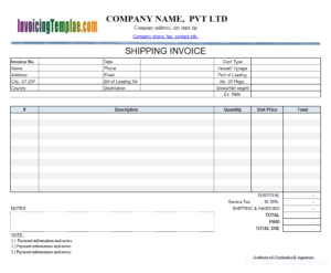 Invoice Template With Credit Card Payment Option within Credit Card Bill Template
