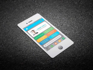 Iphone Business Card Template – Giancarlosopofo inside Iphone Business Card Template