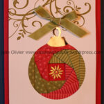 Iris Folding: Christmas Ornament | Cards - Iris Folding for Iris Folding Christmas Cards Templates