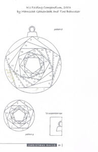Iris Folding Patterns Free Printables |  Made Using A in Card Folding Templates Free