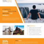 Island Travel Flyer Template Inside Island Brochure Template