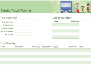 Itineraries – Office pertaining to Blank Trip Itinerary Template