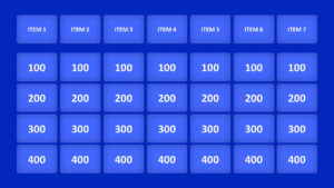 Jeopardy Game Powerpoint Templates for Jeopardy Powerpoint Template With Score