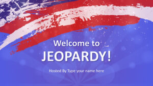 Jeopardy Game Powerpoint Templates pertaining to Powerpoint Template Games For Education