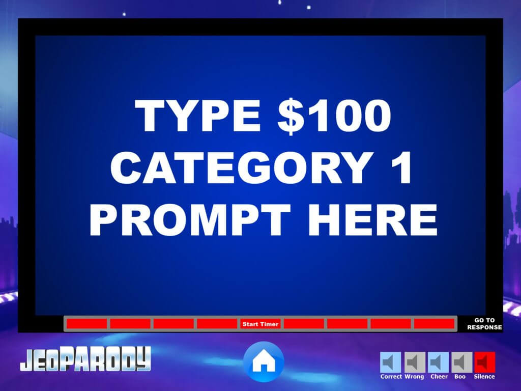 Jeopardy Powerpoint Game Template – Youth Downloadsyouth Inside Jeopardy Powerpoint Template With Sound