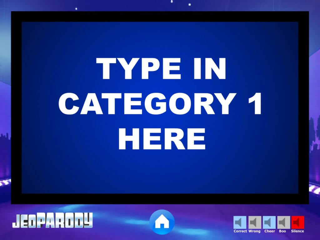 Jeopardy Powerpoint Game Template – Youth Downloadsyouth With Regard To Jeopardy Powerpoint Template With Sound