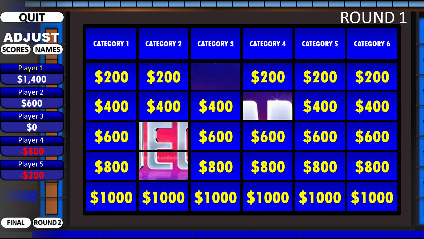 Jeopardy! | Rusnak Creative Free Powerpoint Games With Regard To Jeopardy Powerpoint Template With Sound