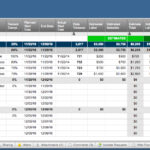 Job Cost Spreadsheet Construction Google Search Project G Throughout Job Cost Report Template Excel