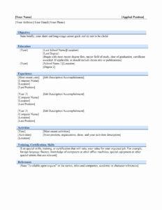 Job Resume Template Microsoft Word | Yyjiazheng – Resume intended for Free Basic Resume Templates Microsoft Word