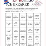 July 4Th Bingo Cards Printable Picnic Game Ice Breaker Get To Know You Regarding Ice Breaker Bingo Card Template