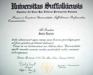 Juris Doctor – Wikipedia intended for Doctorate Certificate Template