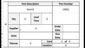 Kanban Card Template – Tutorial, Video, And Download in Queue Cards Template