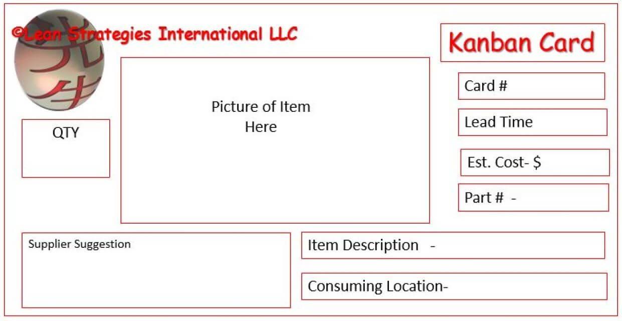 Kanban Card Templates | Kanban | Kanban Cards, Card Within Kanban Card Template