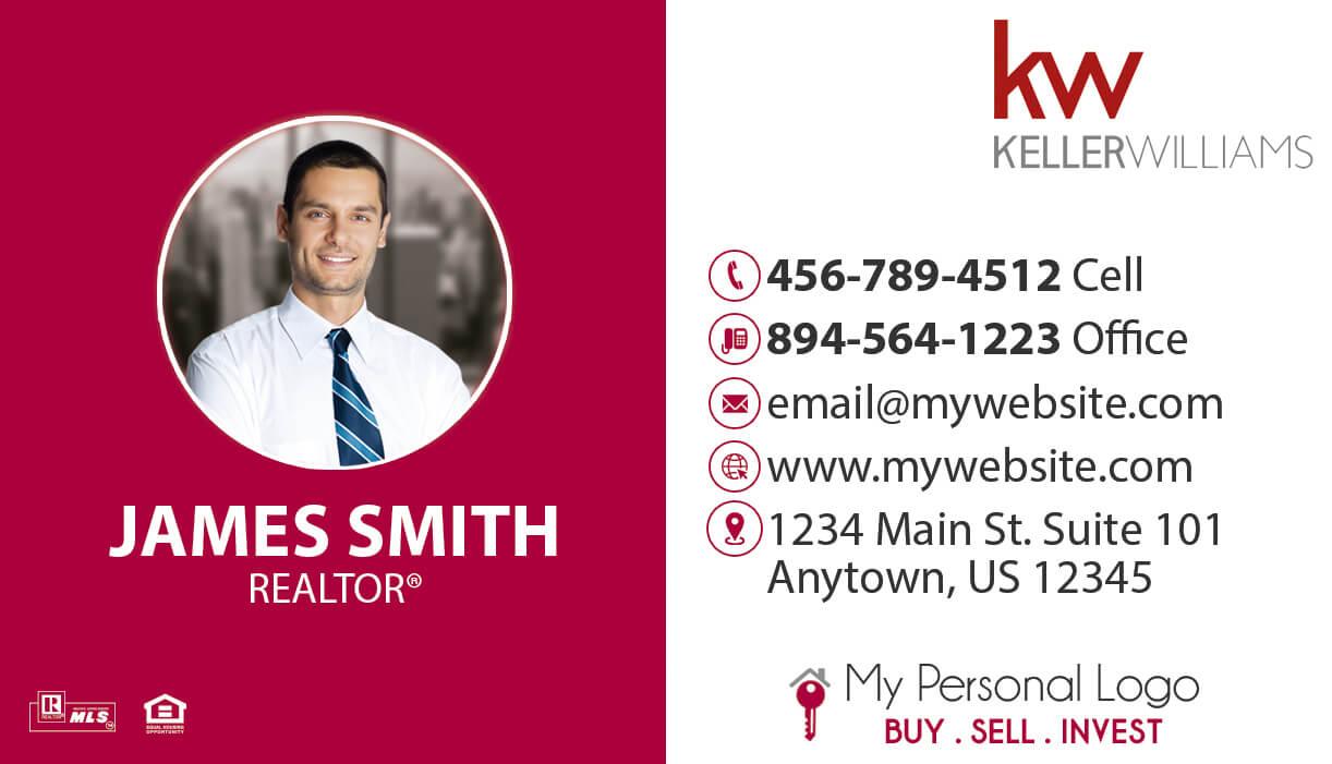 Keller Williams Business Cards 36 | Keller Williams Business Intended For Keller Williams Business Card Templates