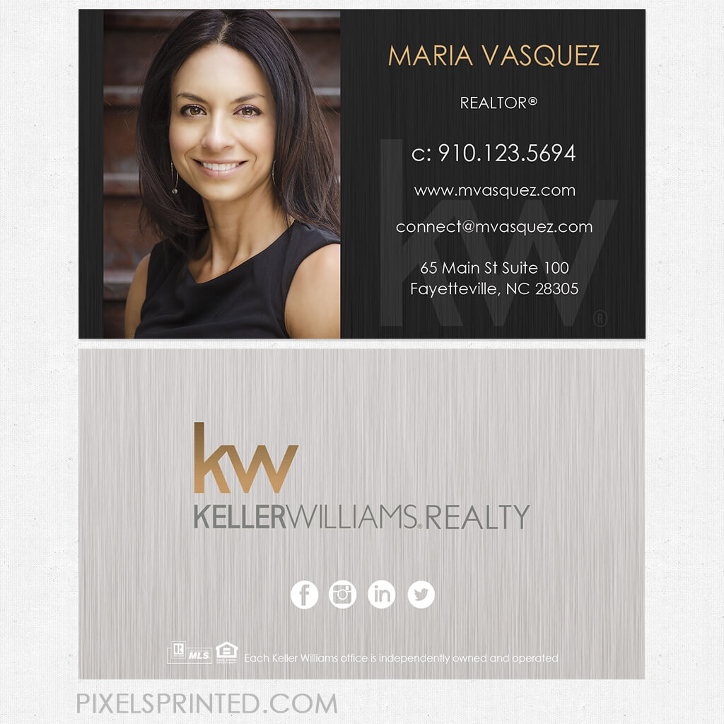 Keller Williams Business Cards   Real Estate Stuff   Real Regarding Keller Williams Business Card Templates