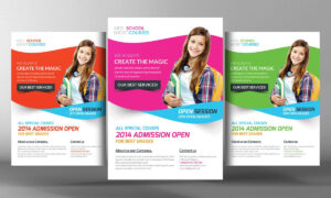 Kids School Flyer Templatebusiness Templates On Creative intended for School Brochure Design Templates