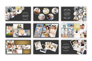 Kolase – Powerpoint Template #collage#perfect#album#family with regard to Powerpoint Photo Album Template