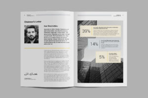 Kreatype Annual Report #files#idml#easy#character | Graphics pertaining to Chairman's Annual Report Template